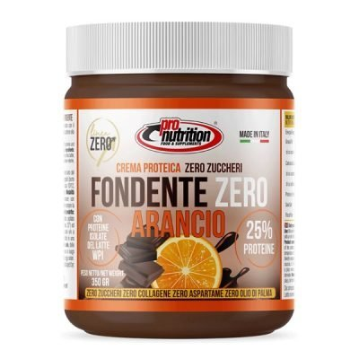 Fondente Arancio Zero Crema Spalmabile 350g – Pronutrition