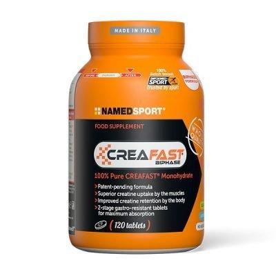 CreaFast Creatina 120cpr – Named Sport
