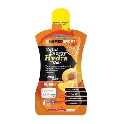 Total Energy Hydra Gel 50ml Lemon Peach – Named Sport