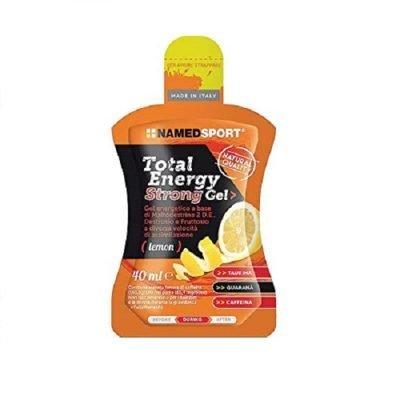 Total Energy Strong Gel 40ml Lemon – Named Sport