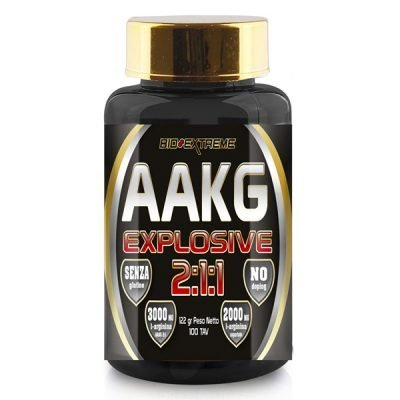 AAKG Explosive Arginina 100cpr – Bio Extreme