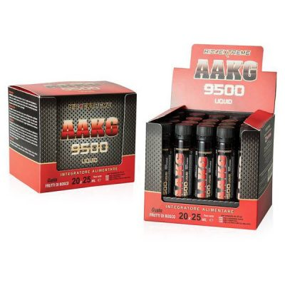 AAKG 9500 Liquid 25ml Frutti di Bosco – Bio Extreme