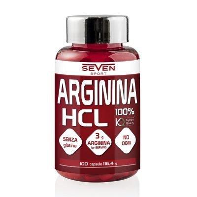 Arginina HCL Kiowa 100cps – Seven Sport