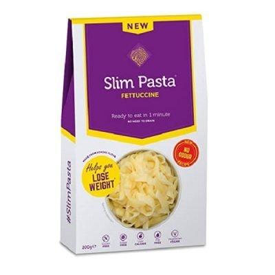 Slim Pasta Konjac Fettuccine (secchi senza odore) 200g – Eat Water