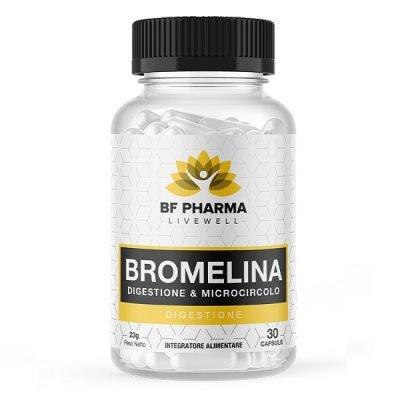 Bromelina 30cps – BF Pharma